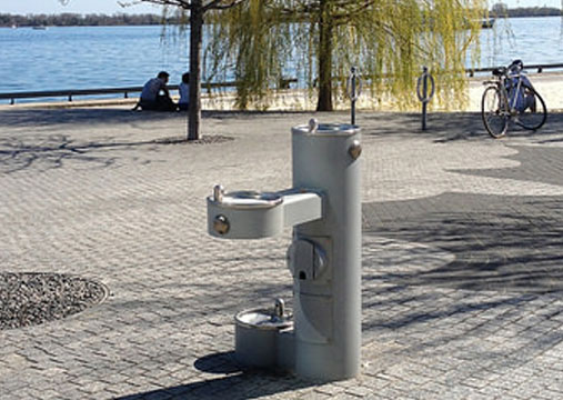 Drinking Fountain Landing Page Image